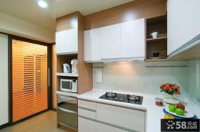 现代风格简约中式厨房设计