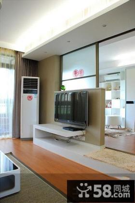 家庭室内客厅电视背景墙图片大全欣赏