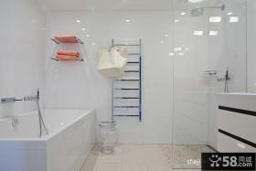 90平米装修效果图 90平方家装卫生间效果图