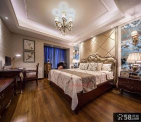 欧式装修卧室吊顶效果图