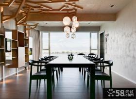 时尚现代装修风格餐厅设计