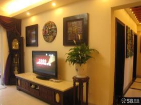 客厅电视背景墙设计图片欣赏