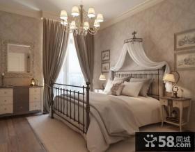 8万打造70平米现代简约风格卧室装修效果图大全2014图片