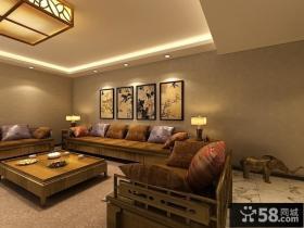 古典中式三居装潢欣赏