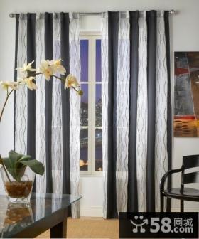 地中海风格窗帘图片