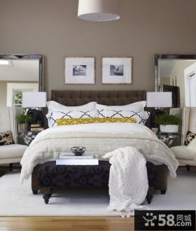 2013卧室床头背景墙