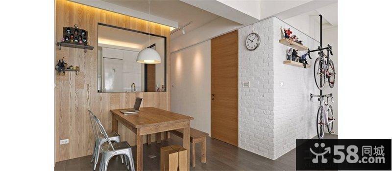 新古典60平小二房餐廳裝修效果圖