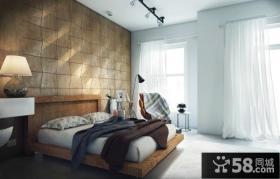 复古室内卧室图片欣赏
