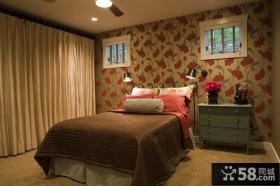 简约的家美式风格装修卧室图片