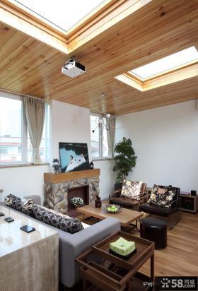 小复式楼装修效果图客厅