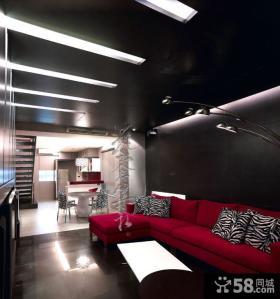 现代美式风格客厅图片大全