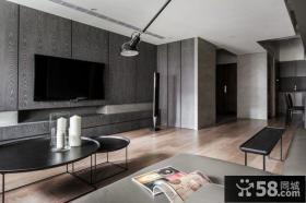 家居现代客厅电视背景墙效果图2015