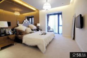 现代欧式设计卧室图