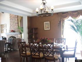 美式风格豪华西餐厅设计效果图欣赏大全