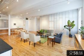 简约复式住宅设计客厅图片