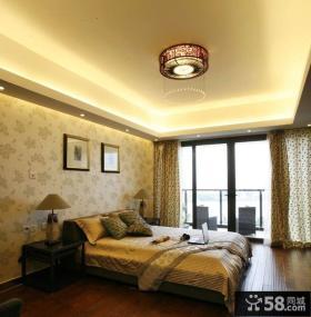 卧室床头壁纸照片背景墙效果图