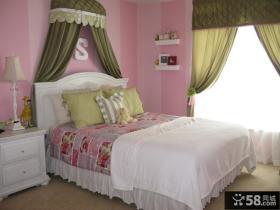 简约风格女生卧室装修效果图大全2013图片