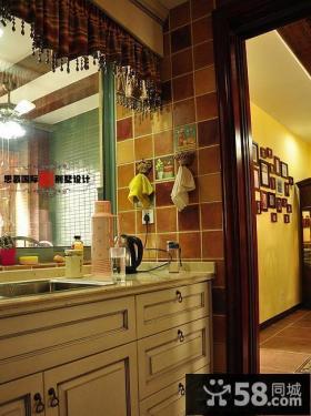 洗手间瓷砖装修效果图欣赏
