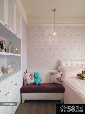 简欧风格室内卧室衣柜图片大全