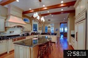 美式设计厨房图片欣赏大全