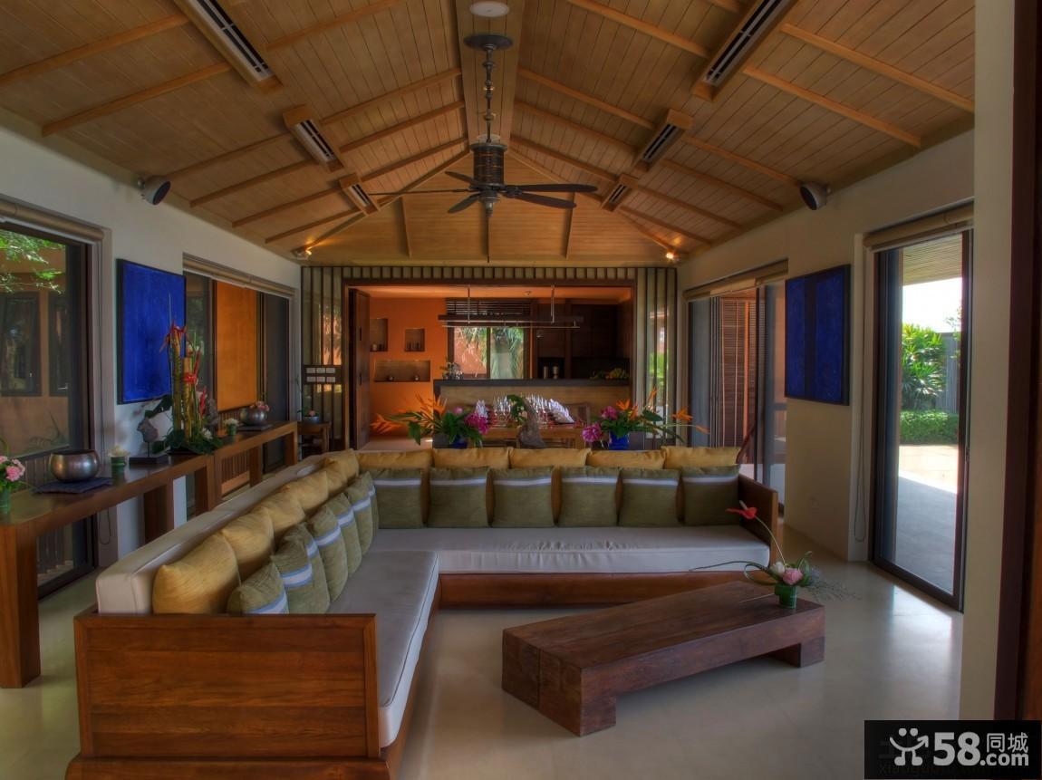 日式风格阁楼三居室装修效果图欣赏大全