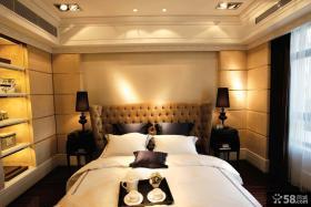 现代风格卧室样板房效果图