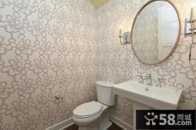 120平方复式楼家庭厕所装修效果图