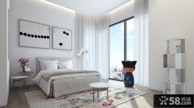简约创意风格时尚卧室装修效果图