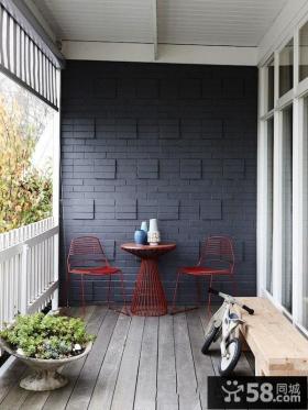 美式设计室内阳台效果图大全