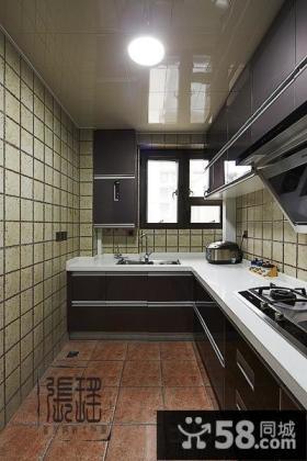 5平米现代整体厨房装修效果图