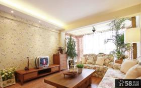 220平米田园风格别墅室内家装效果图