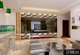精美现代风格电视背景墙装修效果图大全2012图片