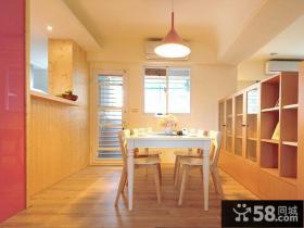 简约设计小户型餐厅装饰效果图