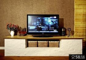 简欧风格电视背景墙装修效果图