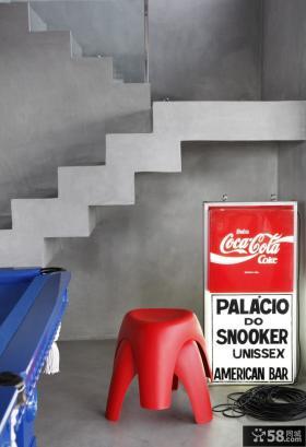 巴西清爽复式公寓创意过道