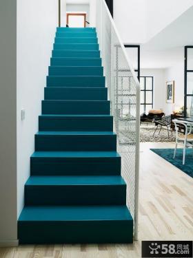 复式楼楼梯图片