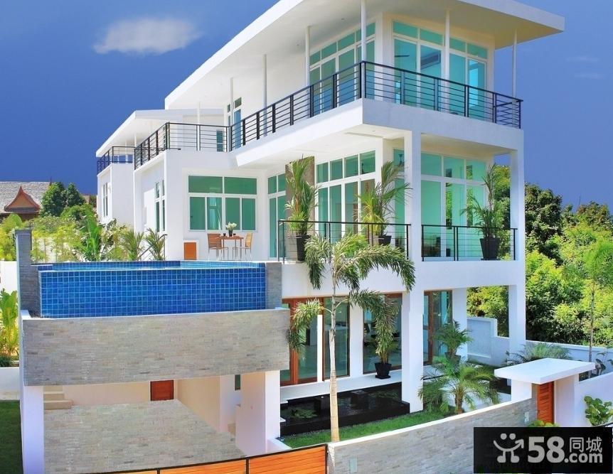 现代豪华别墅图片