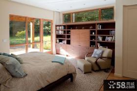 美式现代别墅卧室设计图片