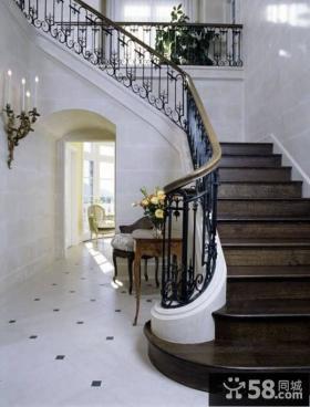 欧式楼梯间设计效果图大全