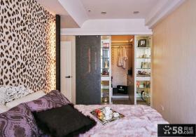 现代欧式风格卧室图片大全2015