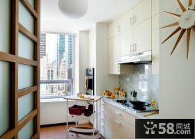 6万打造二居现代风格厨房橱柜装修效果图大全2014图片