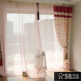 小户型阳台装饰窗帘效果图