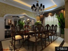 餐厅吊顶灯装修效果图欣赏