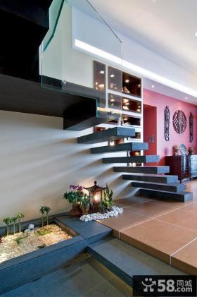 别墅楼梯装修设计效果图片