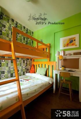 儿童房绿色家居图片