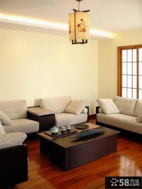 2014优质中式风格名古屋别墅客厅样板设计