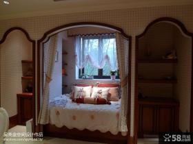 美式风格女儿童房间室内设计