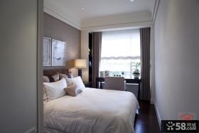 欧式风格卧室阳台窗帘效果图