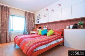 日式家庭设计时尚卧室效果图大全欣赏
