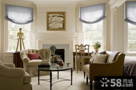 中海阅景馨园北欧小户型客厅飘窗装修效果图案例